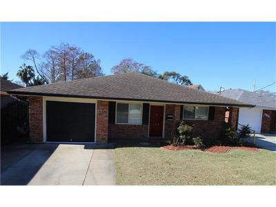 Metairie Single Family Home For Sale: 3912 Transcontinental Drive