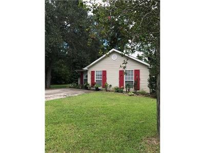 Slidell Single Family Home For Sale: 37632 Lopez Street