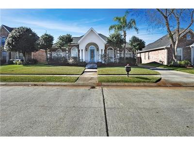 Kenner Single Family Home Pending Continue to Show: 4029 Turtle Bayou Drive