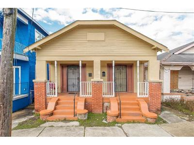 New Orleans Multi Family Home For Sale: 1333 S Genois Street