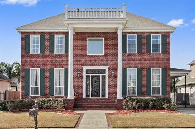 Kenner Single Family Home For Sale: 4413 Rue St Peter Street