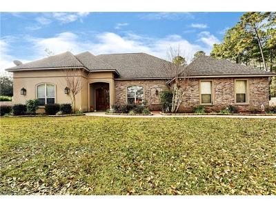 Madisonville Single Family Home For Sale: 357 Perrilloux Road