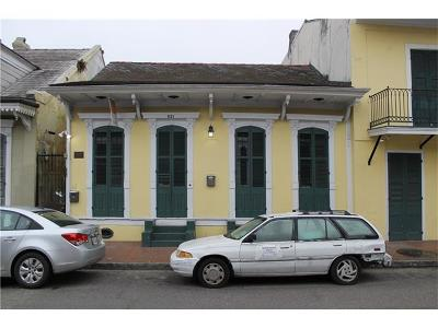 New Orleans Multi Family Home For Sale: 821 St Peter Street