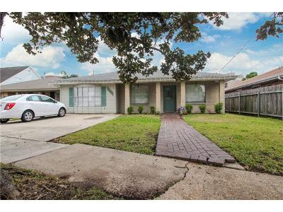 Metairie Single Family Home For Sale: 4304 Lucerne Street