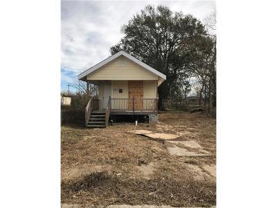 New Orleans Single Family Home For Sale: 2427 Montegut Street