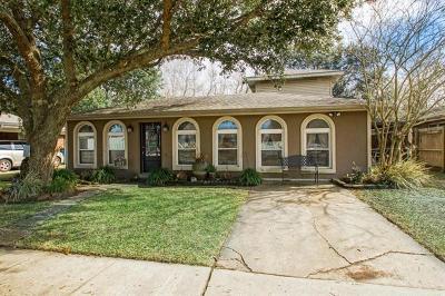 Mereaux, Meraux Single Family Home For Sale: 2117 Paul Drive