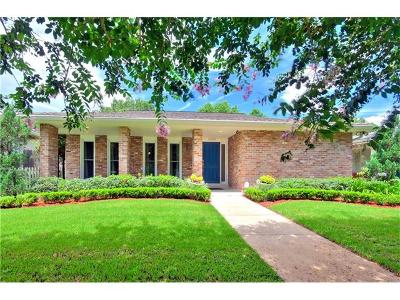 New Orleans Single Family Home For Sale: 6808 Argonne Boulevard