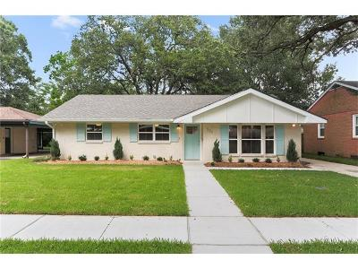Metairie Single Family Home For Sale: 503 Marguerite Road