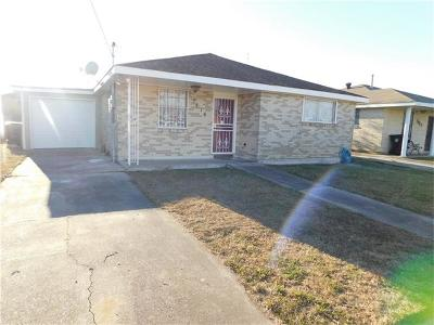 New Orleans Single Family Home For Sale: 7816 Devine Avenue
