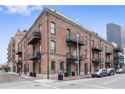 New Orleans Condo Pending Continue to Show: 711 Tchoupitoulas Street #202