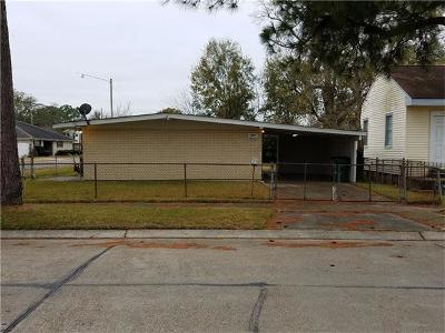Metairie Single Family Home For Sale: 800 Carnation Street