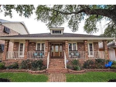 New Orleans Single Family Home For Sale: 6868 Orleans Avenue