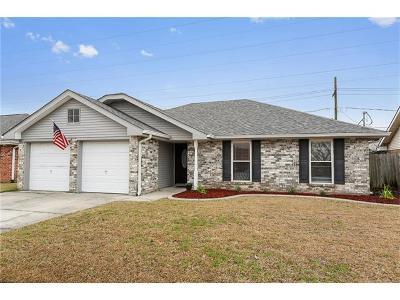 Marrero Single Family Home For Sale: 3936 Crossmoor Drive