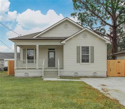 Metairie Single Family Home For Sale: 5929 W Metairie Avenue