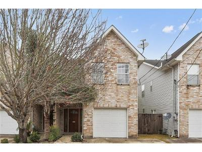 Metairie Townhouse Pending Continue to Show: 4313 Norton Street