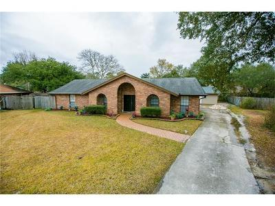 Slidell Single Family Home For Sale: 103 Milford Circle