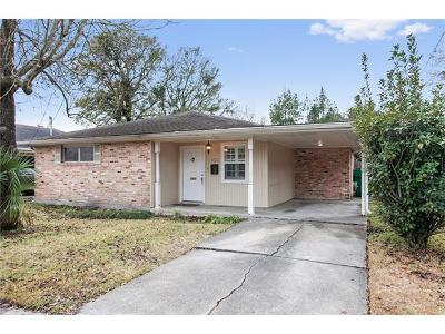 Metairie Single Family Home For Sale: 452 Beverly Garden Drive