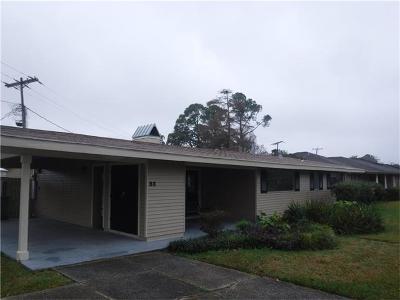 Gretna Single Family Home For Sale: 83 Gretna Boulevard