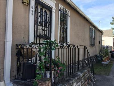 New Orleans Single Family Home For Sale: 600 Peniston Street