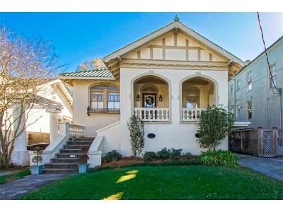 New Orleans Multi Family Home For Sale: 2705 Octavia Street