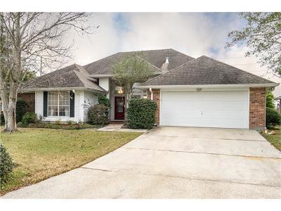 Gretna Single Family Home For Sale: 3529 Lake Lynn Drive