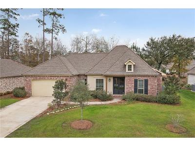 Madisonville Single Family Home For Sale: 620 Longue Vue Place
