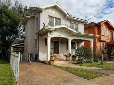 New Orleans Single Family Home For Sale: 2327 Peniston Street