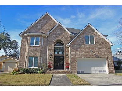 River Ridge, Harahan Single Family Home For Sale: 15 Hennessey Court