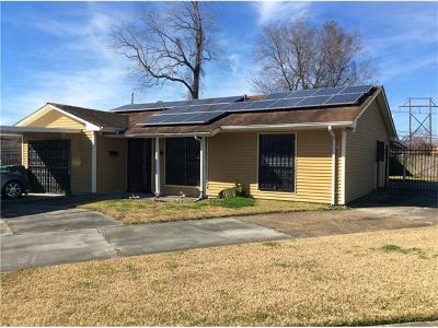 Westwego Single Family Home For Sale: 156 Grambling Court
