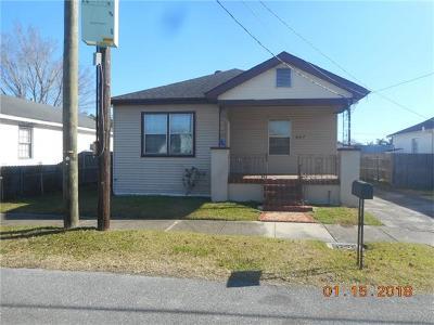 Marrero Single Family Home For Sale: 447 Allo Avenue