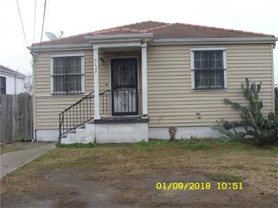 New Orleans Single Family Home For Sale: 5127 St Anthony Avenue