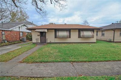 Metairie Single Family Home For Sale: 1105 Newman Avenue
