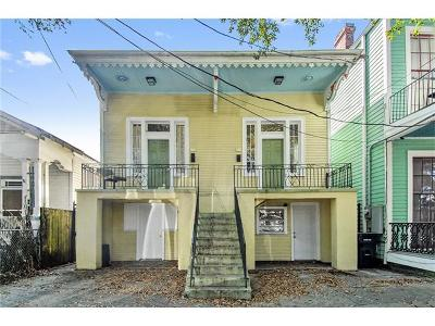 New Orleans Multi Family Home For Sale: 712 Washington Avenue