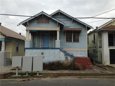 New Orleans Single Family Home For Sale: 2537 Frenchmen Street