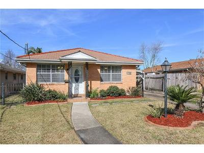 Metairie Single Family Home For Sale: 4613 Newlands Street