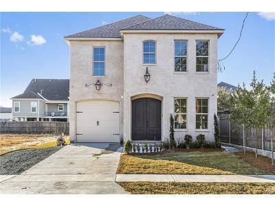 New Orleans Single Family Home For Sale: 7026 Fleur De Lis Drive