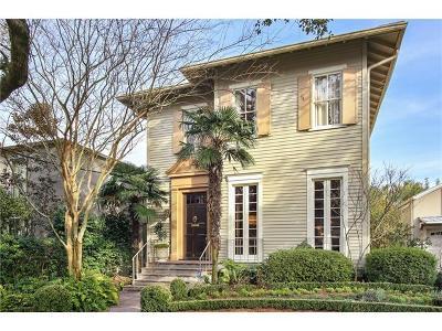 New Orleans Single Family Home For Sale: 1927 Octavia Street