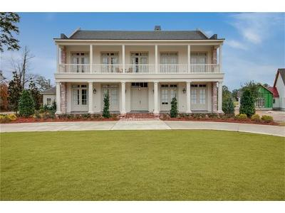 Covington LA Single Family Home For Sale: $1,850,000