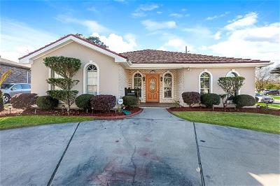 Kenner Single Family Home For Sale: 3455 E Loyola Drive
