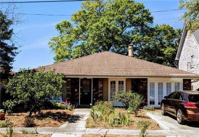 Metairie Single Family Home For Sale: 1408 Pasadena Avenue