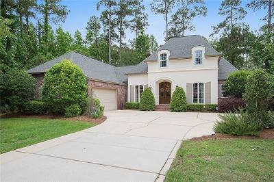 Mandeville Single Family Home For Sale: 43 Cardinal Lane