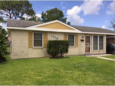Marrero Single Family Home For Sale: 1216 Ames Boulevard