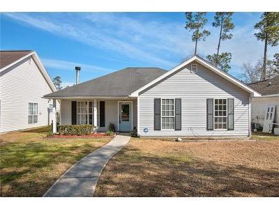 Slidell Single Family Home For Sale: 2120 Teal Street