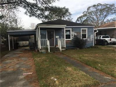Kenner Single Family Home For Sale: 1919 Kentucky Avenue