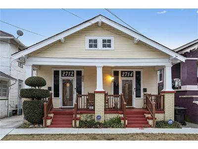 New Orleans Multi Family Home For Sale: 2712 Aubry Street