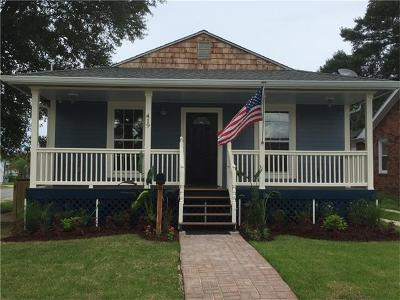 New Orleans Single Family Home For Sale: 419 Warrington Drive