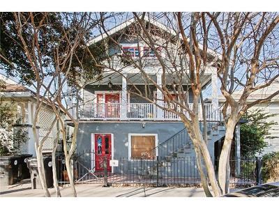 New Orleans Multi Family Home For Sale: 4909 Laurel Street
