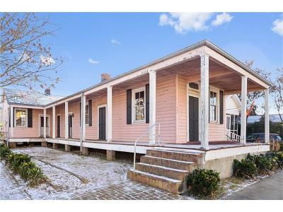 New Orleans Single Family Home For Sale: 529 Jena Street