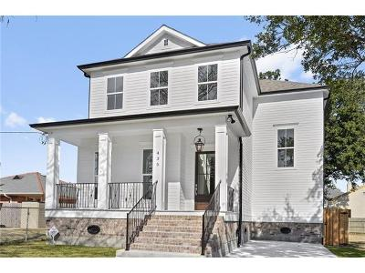 New Orleans Single Family Home For Sale: 435 28th Street