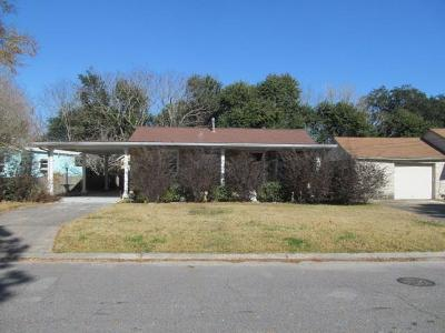 New Orleans Single Family Home For Sale: 4502 Croyden Avenue
